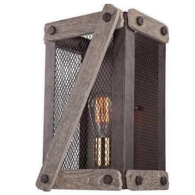 Светильник Lsp-9101Морской стиль<br>В интернет-магазине «Светодом» представлен широкий выбор настенных бра по привлекательной цене. Это качественные товары от популярных мировых производителей. Благодаря большому ассортименту Вы обязательно подберете под свой интерьер наиболее подходящий вариант.  Оригинальное настенное бра LGO Lsp-9101 можно использовать для освещения не только гостиной, но и прихожей или спальни. Модель выполнена из современных материалов, поэтому прослужит на протяжении долгого времени. Обратите внимание на технические характеристики, чтобы сделать правильный выбор.  Чтобы купить настенное бра LGO Lsp-9101 в нашем интернет-магазине, воспользуйтесь «Корзиной» или позвоните менеджерам компании «Светодом» по указанным на сайте номерам. Мы доставляем заказы по Москве, Екатеринбургу и другим российским городам.<br><br>Тип лампы: Накаливания<br>Тип цоколя: E27<br>Количество ламп: 1<br>Ширина, мм: 240<br>MAX мощность ламп, Вт: 60<br>Расстояние от стены, мм: 150<br>Высота, мм: 340<br>Цвет арматуры: коричневый