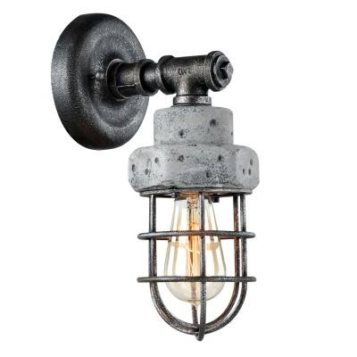 Светильник LOFT LSP-9103Морской стиль<br>В интернет-магазине «Светодом» представлен широкий выбор настенных бра по привлекательной цене. Это качественные товары от популярных мировых производителей. Благодаря большому ассортименту Вы обязательно подберете под свой интерьер наиболее подходящий вариант.  Оригинальное настенное бра Loft LSP-9103 можно использовать для освещения не только гостиной, но и прихожей или спальни. Модель выполнена из современных материалов, поэтому прослужит на протяжении долгого времени. Обратите внимание на технические характеристики, чтобы сделать правильный выбор.  Чтобы купить настенное бра Loft LSP-9103 в нашем интернет-магазине, воспользуйтесь «Корзиной» или позвоните менеджерам компании «Светодом» по указанным на сайте номерам. Мы доставляем заказы по Москве, Екатеринбургу и другим российским городам.<br><br>Тип лампы: Накаливания / энергосбережения / светодиодная<br>Тип цоколя: E27<br>Цвет арматуры: черный<br>Количество ламп: 1<br>Ширина, мм: 130<br>Расстояние от стены, мм: 170<br>Высота, мм: 310<br>MAX мощность ламп, Вт: 60