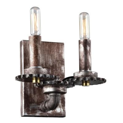 Светильник LOFT LSP-9104Морской стиль<br>В интернет-магазине «Светодом» представлен широкий выбор настенных бра по привлекательной цене. Это качественные товары от популярных мировых производителей. Благодаря большому ассортименту Вы обязательно подберете под свой интерьер наиболее подходящий вариант.  Оригинальное настенное бра Loft LSP-9104 можно использовать для освещения не только гостиной, но и прихожей или спальни. Модель выполнена из современных материалов, поэтому прослужит на протяжении долгого времени. Обратите внимание на технические характеристики, чтобы сделать правильный выбор.  Чтобы купить настенное бра Loft LSP-9104 в нашем интернет-магазине, воспользуйтесь «Корзиной» или позвоните менеджерам компании «Светодом» по указанным на сайте номерам. Мы доставляем заказы по Москве, Екатеринбургу и другим российским городам.<br><br>Тип лампы: Накаливания / энергосбережения / светодиодная<br>Тип цоколя: E14<br>Количество ламп: 2<br>Ширина, мм: 240<br>MAX мощность ламп, Вт: 40<br>Расстояние от стены, мм: 200<br>Высота, мм: 180<br>Цвет арматуры: серый