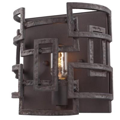 Светильник бра Lsp-9121кованые бра<br>В интернет-магазине «Светодом» представлен широкий выбор настенных бра по привлекательной цене. Это качественные товары от популярных мировых производителей. Благодаря большому ассортименту Вы обязательно подберете под свой интерьер наиболее подходящий вариант. <br>Оригинальное настенное бра LGO Lsp-9121 можно использовать для освещения не только гостиной, но и прихожей или спальни. Модель выполнена из современных материалов, поэтому прослужит на протяжении долгого времени. Обратите внимание на технические характеристики, чтобы сделать правильный выбор. <br>Чтобы купить настенное бра LGO Lsp-9121 в нашем интернет-магазине, воспользуйтесь «Корзиной» или позвоните менеджерам компании «Светодом» по указанным на сайте номерам. Мы доставляем заказы по Москве, Екатеринбургу и другим российским городам.<br><br>Тип лампы: Накаливания<br>Тип цоколя: E27<br>Цвет арматуры: черный<br>Количество ламп: 1<br>Ширина, мм: 240<br>Расстояние от стены, мм: 140<br>Высота, мм: 240<br>MAX мощность ламп, Вт: 40