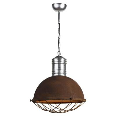 Светильник LOFT LSP-9500одиночные подвесные светильники<br><br><br>Установка на натяжной потолок: да<br>S освещ. до, м2: 5<br>Крепление: планка<br>Тип лампы: Накаливания / энергосбережения / светодиодная<br>Тип цоколя: E27<br>Количество ламп: 1<br>Диаметр, мм мм: 400<br>Высота полная, мм: 1200<br>Оттенок (цвет): коричневый<br>MAX мощность ламп, Вт: 60