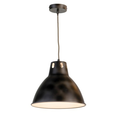 Светильник LOFT LSP-9504одиночные подвесные светильники<br><br><br>Тип лампы: Накаливания / энергосбережения / светодиодная<br>Тип цоколя: E27<br>Цвет арматуры: черный<br>Количество ламп: 1<br>Диаметр, мм мм: 320<br>Высота полная, мм: 1200<br>MAX мощность ламп, Вт: 60