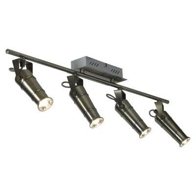 Светильник настенно-потолочный Loft LSP-9511С 4 лампами<br><br><br>Тип лампы: LED<br>Тип цоколя: LED<br>Цвет арматуры: бронза<br>Количество ламп: 4<br>Размеры: 700х140х160<br>MAX мощность ламп, Вт: 5