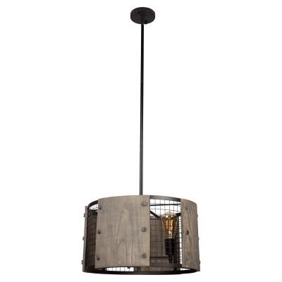 Подвес Loft LSP-9513Потолочные<br><br><br>S освещ. до, м2: 9<br>Тип лампы: накаливания / энергосбережения / LED-светодиодная<br>Тип цоколя: E27<br>Цвет арматуры: черный<br>Количество ламп: 3<br>Размеры: 460х1200х460<br>MAX мощность ламп, Вт: 60