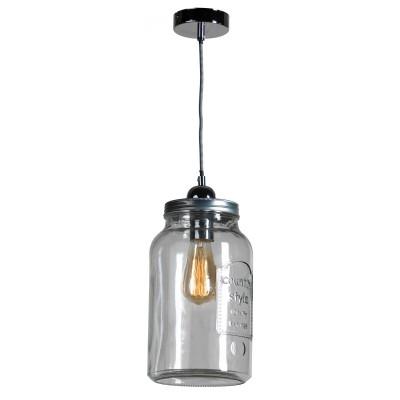 Подвесной светильник Loft LSP-9523одиночные подвесные светильники<br><br><br>Тип цоколя: E27<br>Цвет арматуры: никель<br>Количество ламп: 1<br>Размеры: 170х1200х170<br>MAX мощность ламп, Вт: 40