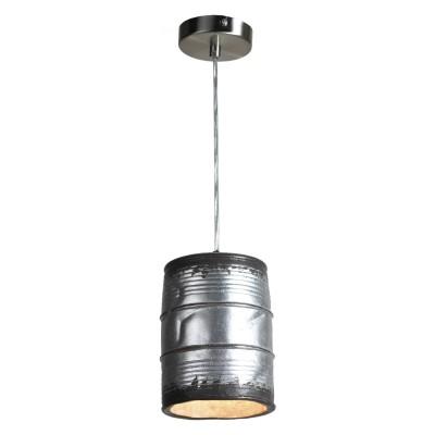 Подвес Loft LSP-9526Одиночные<br><br><br>Тип цоколя: E27<br>Цвет арматуры: никель<br>Количество ламп: 1<br>Размеры: 110х1200х110<br>MAX мощность ламп, Вт: 40