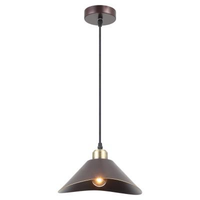 Подвес Loft LSP-9533Одиночные<br><br><br>Тип цоколя: E27<br>Цвет арматуры: коричневый<br>Количество ламп: 1<br>Размеры: 250х1200х250<br>MAX мощность ламп, Вт: 60