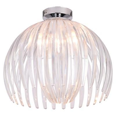 Светильник LSP-9538современные потолочные люстры модерн<br><br><br>Тип лампы: Накаливания / энергосбережения / светодиодная<br>Тип цоколя: E27<br>Цвет арматуры: серебристый<br>Количество ламп: 1<br>Диаметр, мм мм: 360<br>Высота, мм: 320<br>Поверхность арматуры: глянцевая<br>MAX мощность ламп, Вт: 60