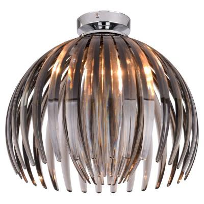 Светильник LSP-9539современные потолочные люстры модерн<br><br><br>Тип лампы: Накаливания / энергосбережения / светодиодная<br>Тип цоколя: E27<br>Цвет арматуры: серебристый<br>Количество ламп: 1<br>Диаметр, мм мм: 360<br>Высота, мм: 320<br>Поверхность арматуры: глянцевая<br>MAX мощность ламп, Вт: 60