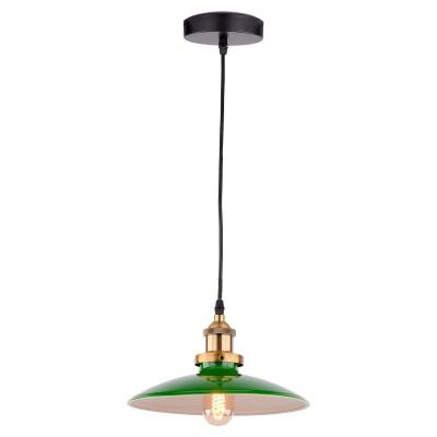 Светильник LSP-9543одиночные подвесные светильники<br><br><br>Установка на натяжной потолок: Да<br>Крепление: Планка<br>Тип лампы: Накаливания / энергосбережения / светодиодная<br>Тип цоколя: E27<br>Цвет арматуры: черный/бронзовый<br>Количество ламп: 1<br>Диаметр, мм мм: 250<br>Высота полная, мм: 1200<br>Поверхность арматуры: матовая<br>Оттенок (цвет): черный<br>MAX мощность ламп, Вт: 60