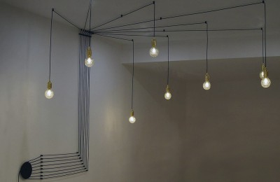 Светильник LOFT LSP-9554Подвесные<br><br><br>S освещ. до, м2: 24<br>Тип лампы: накаливания / энергосбережения / LED-светодиодная<br>Тип цоколя: E27<br>Цвет арматуры: черный<br>Количество ламп: 8<br>MAX мощность ламп, Вт: 60
