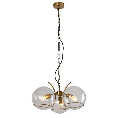Светильник LSP-9556Подвесные<br><br><br>Тип лампы: Накаливания / энергосбережения / светодиодная<br>Тип цоколя: E27<br>Цвет арматуры: бронзовый<br>Количество ламп: 3<br>Диаметр, мм мм: 500<br>Высота полная, мм: 1200<br>Высота, мм: 250<br>Поверхность арматуры: матовая<br>Оттенок (цвет): бронза<br>MAX мощность ламп, Вт: 60<br>Общая мощность, Вт: 180