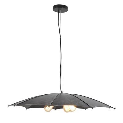 Светильник LSP-9558Подвесные<br><br><br>Установка на натяжной потолок: Да<br>Крепление: Планка<br>Тип лампы: Накаливания / энергосбережения / светодиодная<br>Тип цоколя: E27<br>Цвет арматуры: черный<br>Количество ламп: 3<br>Диаметр, мм мм: 810<br>Высота полная, мм: 1200<br>Поверхность арматуры: матовая<br>Оттенок (цвет): черный<br>MAX мощность ламп, Вт: 60<br>Общая мощность, Вт: 180