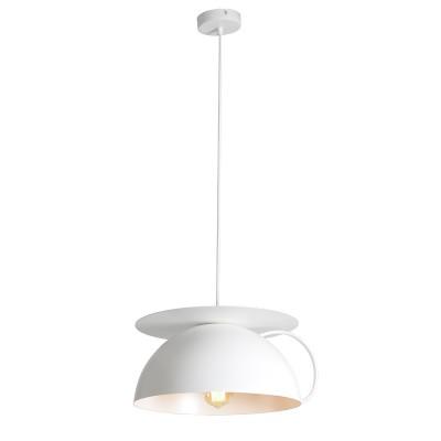 Светильник LSP-9559одиночные подвесные светильники<br><br><br>Установка на натяжной потолок: Да<br>Крепление: Планка<br>Тип лампы: Накаливания / энергосбережения / светодиодная<br>Тип цоколя: E27<br>Цвет арматуры: белый<br>Количество ламп: 1<br>Диаметр, мм мм: 350<br>Высота полная, мм: 1200<br>Поверхность арматуры: матовая<br>Оттенок (цвет): белый<br>MAX мощность ламп, Вт: 60
