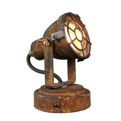 Светильник LOFT LSP-9802Одиночные<br><br><br>Тип лампы: галогенная/LED<br>Тип цоколя: GU10<br>Количество ламп: 1<br>Ширина, мм: 140<br>MAX мощность ламп, Вт: 50<br>Длина, мм: 90<br>Высота, мм: 100