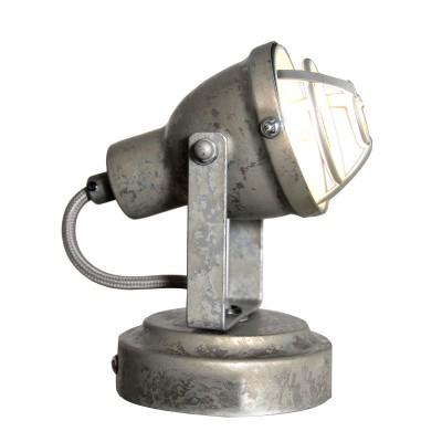 Светильник LOFT LSP-9804Одиночные<br><br><br>Тип лампы: галогенная/LED<br>Тип цоколя: GU10<br>Количество ламп: 1<br>Ширина, мм: 140<br>MAX мощность ламп, Вт: 50<br>Длина, мм: 90<br>Высота, мм: 100