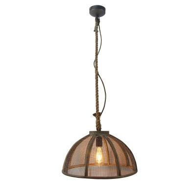 Светильник LOFT LSP-9806Подвесные<br><br><br>S освещ. до, м2: 3<br>Тип лампы: Накаливания / энергосбережения / светодиодная<br>Тип цоколя: E27<br>Количество ламп: 1<br>MAX мощность ламп, Вт: 60<br>Диаметр, мм мм: 420<br>Высота, мм: 500 - 1400
