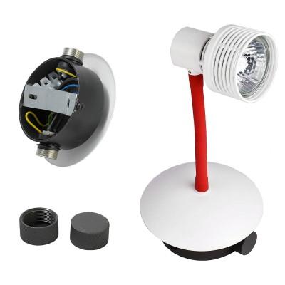 Светильник Lussole Loft LSP-9818Офисные<br><br><br>Тип лампы: галогенная/LED<br>Тип цоколя: G10<br>Количество ламп: 1<br>MAX мощность ламп, Вт: 50<br>Диаметр, мм мм: 110<br>Высота, мм: 230