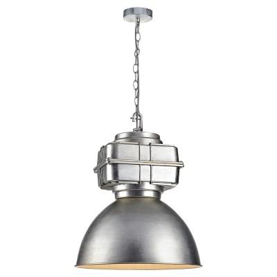Светильник Lussole Loft LSP-9826Одиночные<br><br><br>Тип лампы: Накаливания / энергосбережения / светодиодная<br>Тип цоколя: E27<br>Количество ламп: 1<br>MAX мощность ламп, Вт: 60<br>Диаметр, мм мм: 410<br>Высота, мм: 1200