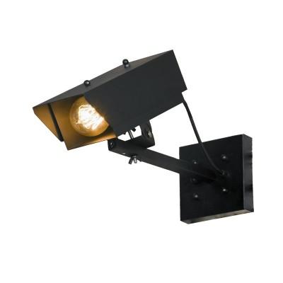 Светильник LOFT LSP-9830Одиночные<br><br><br>S освещ. до, м2: 3<br>Тип лампы: Накаливания / энергосбережения / светодиодная<br>Тип цоколя: E27<br>Количество ламп: 1<br>Ширина, мм: 320<br>Длина, мм: 120<br>Высота, мм: 140<br>MAX мощность ламп, Вт: 60