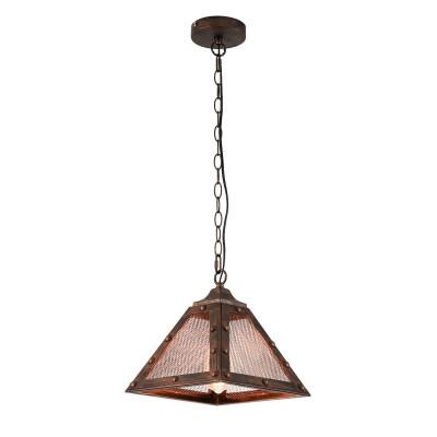 Светильник LOFT LSP-9836одиночные подвесные светильники<br><br><br>S освещ. до, м2: 3<br>Тип лампы: Накаливания / энергосбережения / светодиодная<br>Тип цоколя: E27<br>Количество ламп: 1<br>Ширина, мм: 300<br>Длина, мм: 300<br>Высота, мм: 430 - 1200<br>MAX мощность ламп, Вт: 60
