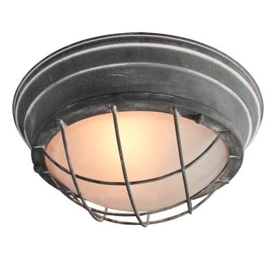 Светильник Loft LSP-9881Круглые<br>Настенно-потолочные светильники – это универсальные осветительные варианты, которые подходят для вертикального и горизонтального монтажа. В интернет-магазине «Светодом» Вы можете приобрести подобные модели по выгодной стоимости. В нашем каталоге представлены как бюджетные варианты, так и эксклюзивные изделия от производителей, которые уже давно заслужили доверие дизайнеров и простых покупателей.  Настенно-потолочный светильник LGO LSP-9881 станет прекрасным дополнением к основному освещению. Благодаря качественному исполнению и применению современных технологий при производстве эта модель будет радовать Вас своим привлекательным внешним видом долгое время. Приобрести настенно-потолочный светильник LGO LSP-9881 можно, находясь в любой точке России. Компания «Светодом» осуществляет доставку заказов не только по Москве и Екатеринбургу, но и в остальные города.<br><br>S освещ. до, м2: 6<br>Тип лампы: Накаливания / энергосбережения / светодиодная<br>Тип цоколя: E27<br>Количество ламп: 2<br>MAX мощность ламп, Вт: 60<br>Диаметр, мм мм: 340<br>Высота, мм: 150<br>Цвет арматуры: серый
