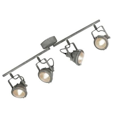 Светильник Loft LSP-9882С 4 лампами<br>Светильники-споты – это оригинальные изделия с современным дизайном. Они позволяют не ограничивать свою фантазию при выборе освещения для интерьера. Такие модели обеспечивают достаточно качественный свет. Благодаря компактным размерам Вы можете использовать несколько спотов для одного помещения.  Интернет-магазин «Светодом» предлагает необычный светильник-спот Loft LSP-9882 по привлекательной цене. Эта модель станет отличным дополнением к люстре, выполненной в том же стиле. Перед оформлением заказа изучите характеристики изделия.  Купить светильник-спот Loft LSP-9882 в нашем онлайн-магазине Вы можете либо с помощью формы на сайте, либо по указанным выше телефонам. Обратите внимание, что у нас склады не только в Москве и Екатеринбурге, но и других городах России.<br><br>S освещ. до, м2: 8<br>Тип лампы: Накаливания / энергосбережения / светодиодная<br>Тип цоколя: E14<br>Цвет арматуры: серый<br>Количество ламп: 4<br>Длина, мм: 860<br>Высота, мм: 260<br>MAX мощность ламп, Вт: 40