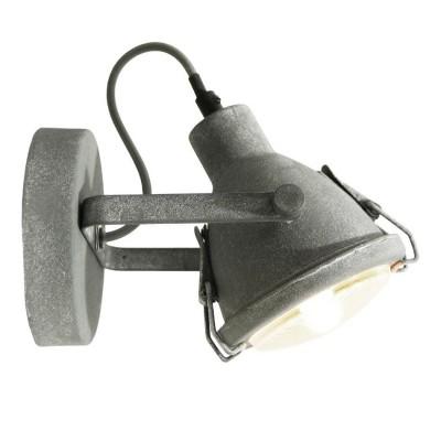 Светильник Loft LSP-9883Одиночные<br>Светильники-споты – это оригинальные изделия с современным дизайном. Они позволяют не ограничивать свою фантазию при выборе освещения для интерьера. Такие модели обеспечивают достаточно качественный свет. Благодаря компактным размерам Вы можете использовать несколько спотов для одного помещения.  Интернет-магазин «Светодом» предлагает необычный светильник-спот Loft LSP-9883 по привлекательной цене. Эта модель станет отличным дополнением к люстре, выполненной в том же стиле. Перед оформлением заказа изучите характеристики изделия.  Купить светильник-спот Loft LSP-9883 в нашем онлайн-магазине Вы можете либо с помощью формы на сайте, либо по указанным выше телефонам. Обратите внимание, что у нас склады не только в Москве и Екатеринбурге, но и других городах России.<br><br>Тип лампы: Накаливания / энергосбережения / светодиодная<br>Тип цоколя: E14<br>Количество ламп: 1<br>MAX мощность ламп, Вт: 40<br>Диаметр, мм мм: 130<br>Высота, мм: 200<br>Цвет арматуры: серый