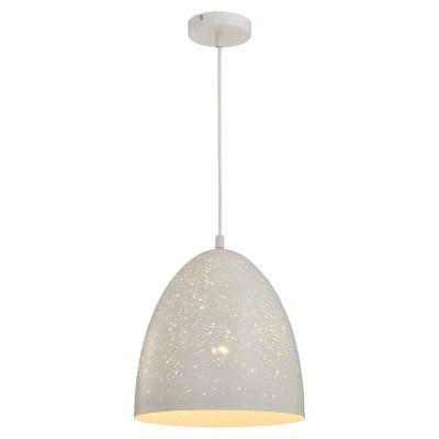 Светильник Loft LSP-9891Одиночные<br><br><br>Тип лампы: Накаливания / энергосбережения / светодиодная<br>Тип цоколя: E27<br>Количество ламп: 1<br>MAX мощность ламп, Вт: 60<br>Диаметр, мм мм: 300<br>Высота, мм: 350 - 1200<br>Цвет арматуры: белый