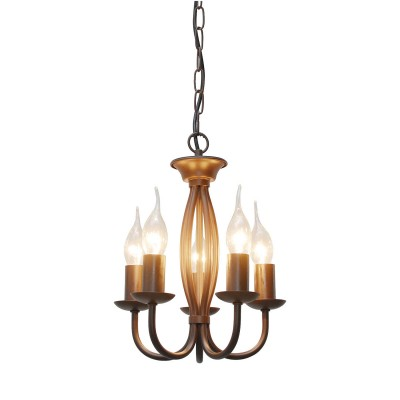 Светильник Lussole Loft LSP-9913Подвесные<br><br><br>S освещ. до, м2: 10<br>Тип лампы: Накаливания / энергосбережения / светодиодная<br>Тип цоколя: E14<br>Количество ламп: 5<br>MAX мощность ламп, Вт: 40<br>Диаметр, мм мм: 260<br>Высота, мм: 1050