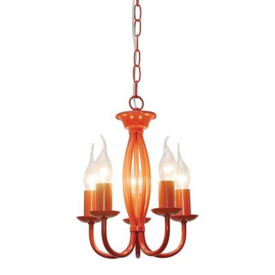 Светильник Lussole Loft LSP-9915Подвесные<br><br><br>Установка на натяжной потолок: Да<br>S освещ. до, м2: 10<br>Тип лампы: Накаливания / энергосбережения / светодиодная<br>Тип цоколя: E14<br>Количество ламп: 5<br>MAX мощность ламп, Вт: 40<br>Диаметр, мм мм: 260<br>Высота, мм: 1050