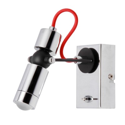 Спот Loft LSP-9923Одиночные<br><br><br>Тип лампы: LED<br>Тип цоколя: LED<br>Количество ламп: 1<br>Ширина, мм: 60<br>MAX мощность ламп, Вт: 5<br>Расстояние от стены, мм: 140<br>Высота, мм: 140