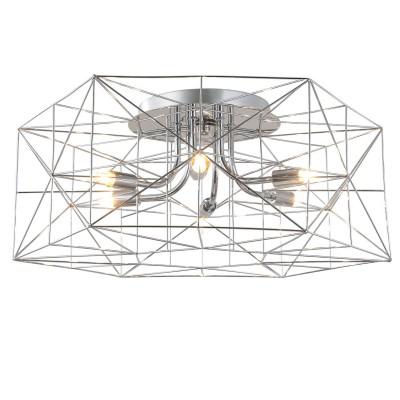 Светильник Lussole Loft LSP-9930Потолочные<br><br><br>Установка на натяжной потолок: Да<br>S освещ. до, м2: 12<br>Тип лампы: галогенная/LED<br>Тип цоколя: G9<br>Количество ламп: 6<br>Диаметр, мм мм: 550<br>Высота, мм: 230<br>MAX мощность ламп, Вт: 40