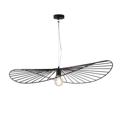 Светильник Lussole Loft LSP-9931Подвесные<br><br><br>Установка на натяжной потолок: Да<br>S освещ. до, м2: 3<br>Тип лампы: Накаливания / энергосбережения / светодиодная<br>Тип цоколя: E27<br>Количество ламп: 1<br>Ширина, мм: 720<br>MAX мощность ламп, Вт: 60<br>Длина, мм: 950<br>Высота, мм: 1000