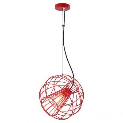 Светильник Lussole Loft LSP-9934Одиночные<br><br><br>Тип лампы: Накаливания / энергосбережения / светодиодная<br>Тип цоколя: E27<br>Количество ламп: 1<br>MAX мощность ламп, Вт: 60<br>Диаметр, мм мм: 290<br>Высота, мм: 1000