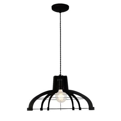 Светильник Lussole Loft LSP-9943Одиночные<br><br><br>Тип лампы: Накаливания / энергосбережения / светодиодная<br>Тип цоколя: E27<br>Количество ламп: 1<br>MAX мощность ламп, Вт: 60<br>Диаметр, мм мм: 490<br>Высота, мм: 1200