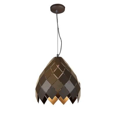 Светильник Lussole Loft LSP-9946одиночные подвесные светильники<br><br><br>Тип лампы: Накаливания / энергосбережения / светодиодная<br>Тип цоколя: E27<br>Количество ламп: 1<br>Диаметр, мм мм: 320<br>Высота, мм: 390 - 1200<br>MAX мощность ламп, Вт: 60