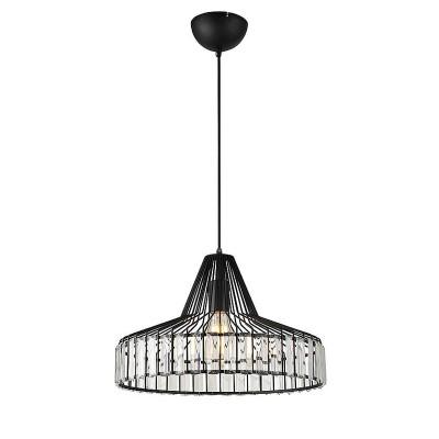 Светильник Lussole Loft LSP-9948Одиночные<br><br><br>Тип лампы: Накаливания / энергосбережения / светодиодная<br>Тип цоколя: E27<br>Количество ламп: 1<br>MAX мощность ламп, Вт: 60<br>Диаметр, мм мм: 410<br>Высота, мм: 270 - 1200
