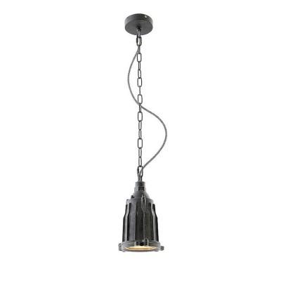Светильник Lussole Loft LSP-9949Одиночные<br><br><br>Тип лампы: Накаливания / энергосбережения / светодиодная<br>Тип цоколя: E27<br>Количество ламп: 1<br>MAX мощность ламп, Вт: 60<br>Диаметр, мм мм: 120<br>Высота, мм: 240 - 1200