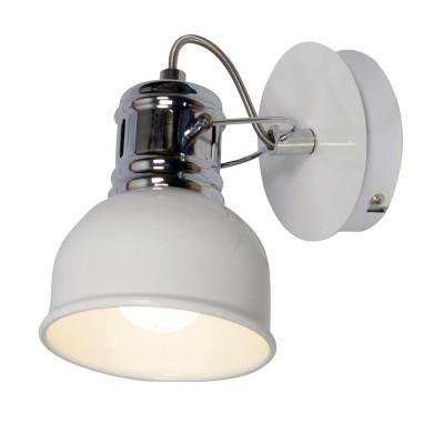 Спот Loft LSP-9955Одиночные<br><br><br>Тип лампы: Накаливания / энергосбережения / светодиодная<br>Тип цоколя: E14<br>Количество ламп: 1<br>Ширина, мм: 110<br>MAX мощность ламп, Вт: 40<br>Расстояние от стены, мм: 160<br>Высота, мм: 150