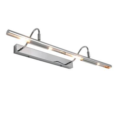 Настенный светильник Loft LSP-9965Для картин/зеркал<br><br><br>Тип лампы: галогенная/LED<br>Тип цоколя: G9<br>Количество ламп: 4<br>Ширина, мм: 600<br>MAX мощность ламп, Вт: 40<br>Расстояние от стены, мм: 190<br>Высота, мм: 130