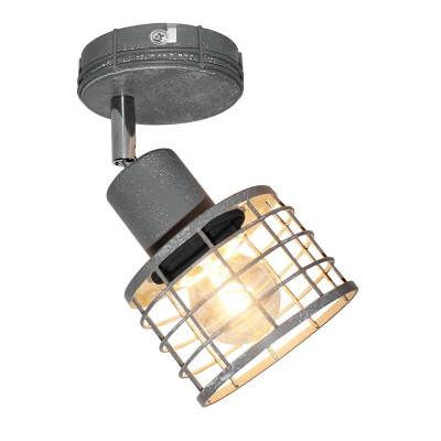 Светильник Lussole Loft LSP-9968Одиночные<br><br><br>S освещ. до, м2: 3<br>Тип лампы: Накаливания / энергосбережения / светодиодная<br>Тип цоколя: E27<br>Количество ламп: 1<br>Ширина, мм: 120<br>Глубина, мм: 150<br>Высота, мм: 100<br>MAX мощность ламп, Вт: 60