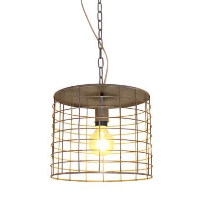 Светильник Lussole Loft LSP-9971Одиночные<br><br><br>Тип лампы: Накаливания / энергосбережения / светодиодная<br>Тип цоколя: E27<br>Количество ламп: 1<br>MAX мощность ламп, Вт: 60<br>Диаметр, мм мм: 300<br>Высота, мм: 1200