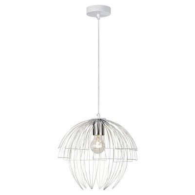 Светильник LGO LSP-9977Одиночные<br><br><br>Тип лампы: Накаливания / энергосбережения / светодиодная<br>Тип цоколя: E27<br>Цвет арматуры: белый<br>Количество ламп: 1<br>Диаметр, мм мм: 340<br>Высота полная, мм: 1500<br>MAX мощность ламп, Вт: 60