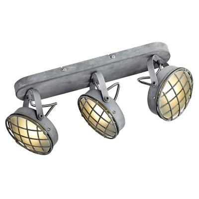 Светильник LOFT LSP-9980тройные споты<br>Светильник LOFT LSP-9980 отличается поворотной способностью регулировки светового потока и сделает Ваше помещение современным, стильным и запоминающимся! Наиболее функционально и эстетически привлекательно модель будет смотреться в гостиной, зале, холле или другой комнате. А в комплекте с люстрой, бра или торшером из этой же коллекции сделает интерьер по-дизайнерски профессиональным и законченным.
