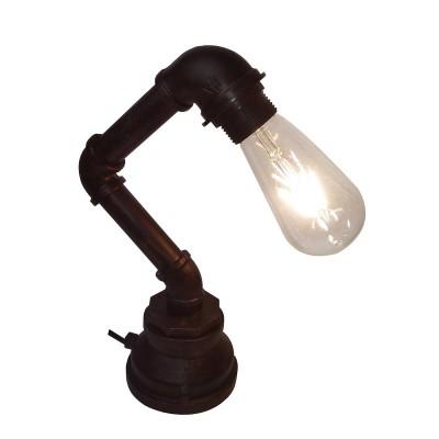 Настольная лампа Loft LSP-9985Лофт<br><br><br>Тип лампы: Накаливания / энергосбережения / светодиодная<br>Тип цоколя: E27<br>Количество ламп: 1<br>Ширина, мм: 100<br>MAX мощность ламп, Вт: 60<br>Длина, мм: 170<br>Высота, мм: 310