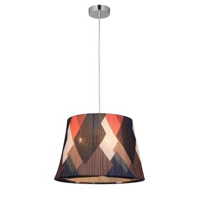 Подвес Loft LSP-9991Подвесные<br><br><br>Установка на натяжной потолок: Да<br>S освещ. до, м2: 9<br>Тип лампы: накаливания / энергосбережения / LED-светодиодная<br>Тип цоколя: E27<br>Количество ламп: 3<br>MAX мощность ламп, Вт: 60<br>Диаметр, мм мм: 350<br>Высота, мм: 1300<br>Цвет арматуры: серебристый