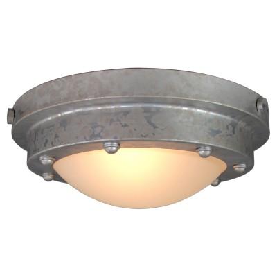 Светильник LOFT LSP-9999круглые светильники<br><br><br>Тип лампы: Накаливания / энергосбережения / светодиодная<br>Тип цоколя: E27<br>Цвет арматуры: серебристый<br>Количество ламп: 1<br>Диаметр, мм мм: 330<br>Высота, мм: 130<br>MAX мощность ламп, Вт: 60