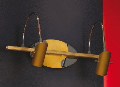 Светильник Lussole LSQ-0401-02 Luino золотоДля картин/зеркал<br>В интернет-магазине «Светодом» представлен широкий выбор настенных бра по привлекательной цене. Это качественные товары от популярных мировых производителей. Благодаря большому ассортименту Вы обязательно подберете под свой интерьер наиболее подходящий вариант.  Оригинальное настенное бра Lussole lsq-0401-02 можно использовать для освещения не только гостиной, но и прихожей или спальни. Модель выполнена из современных материалов, поэтому прослужит на протяжении долгого времени. Обратите внимание на технические характеристики, чтобы сделать правильный выбор.  Чтобы купить настенное бра Lussole lsq-0401-02 в нашем интернет-магазине, воспользуйтесь «Корзиной» или позвоните менеджерам компании «Светодом» по указанным на сайте номерам. Мы доставляем заказы по Москве, Екатеринбургу и другим российским городам.<br><br>S освещ. до, м2: 6<br>Тип лампы: галогенная / LED-светодиодная<br>Тип цоколя: G9<br>Количество ламп: 2<br>Ширина, мм: 170<br>MAX мощность ламп, Вт: 40W<br>Длина, мм: 330<br>Расстояние от стены, мм: 250<br>Цвет арматуры: золотой/серебристый хром