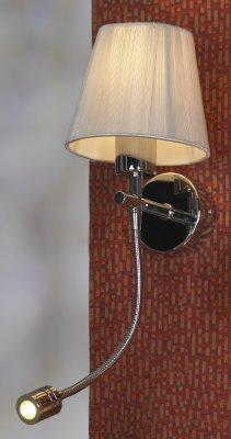 Светильник Lussole lsq-0501-02Модерн<br>В интернет-магазине «Светодом» представлен широкий выбор настенных бра по привлекательной цене. Это качественные товары от популярных мировых производителей. Благодаря большому ассортименту Вы обязательно подберете под свой интерьер наиболее подходящий вариант.  Оригинальное настенное бра Lussole LSQ-0501-02 можно использовать для освещения не только гостиной, но и прихожей или спальни. Модель выполнена из современных материалов, поэтому прослужит на протяжении долгого времени. Обратите внимание на технические характеристики, чтобы сделать правильный выбор.  Чтобы купить настенное бра Lussole LSQ-0501-02 в нашем интернет-магазине, воспользуйтесь «Корзиной» или позвоните менеджерам компании «Светодом» по указанным на сайте номерам. Мы доставляем заказы по Москве, Екатеринбургу и другим российским городам.<br><br>S освещ. до, м2: 6<br>Тип лампы: энергосбережения / LED-светодиодная<br>Тип цоколя: E14 + LED<br>Количество ламп: 1<br>Ширина, мм: 140<br>MAX мощность ламп, Вт: 40 + 3<br>Расстояние от стены, мм: 300<br>Высота, мм: 450<br>Цвет арматуры: серебристый хром